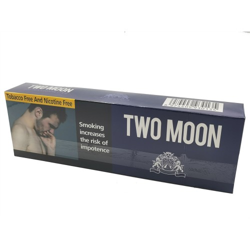 TWO MOON  Chinese Herbal Cigarettes Tobacco-Free Nicotine-Free, Cigarette Substitutes
